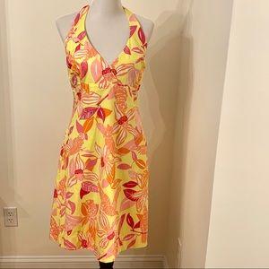 Lilly Pulitzer White Label Vintage Halter Dress M